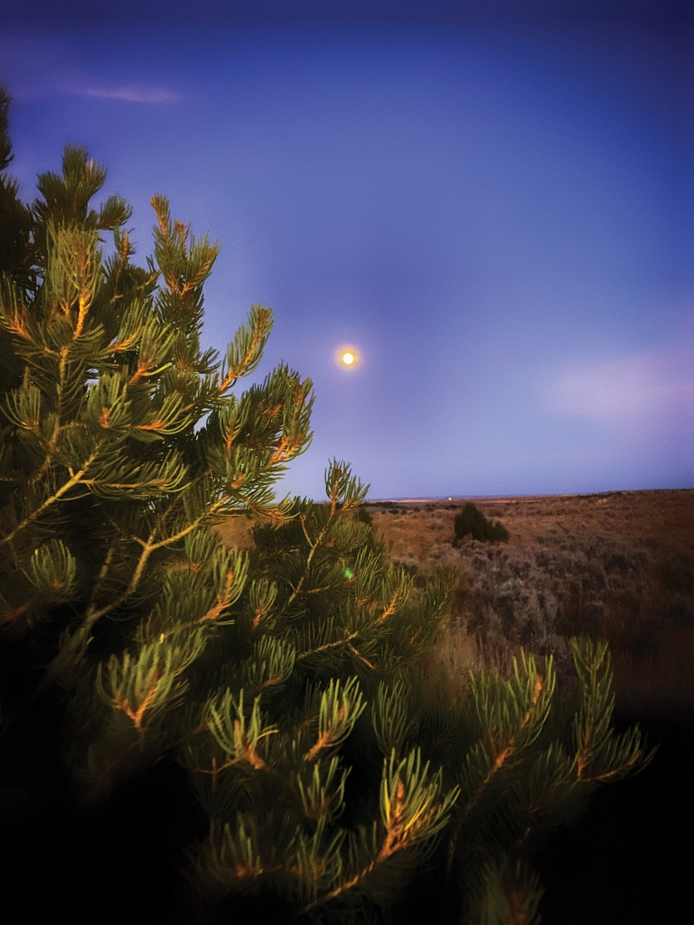 Moonrise over the Canyon Country. Karly Halls photo