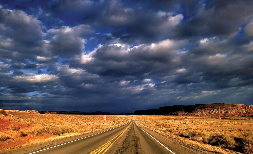 A cloudy day in Bluff, UT.  Latoya Holliday photo