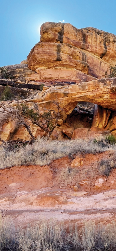 A hidden arch in the redrock country. Tracy Johnson photo