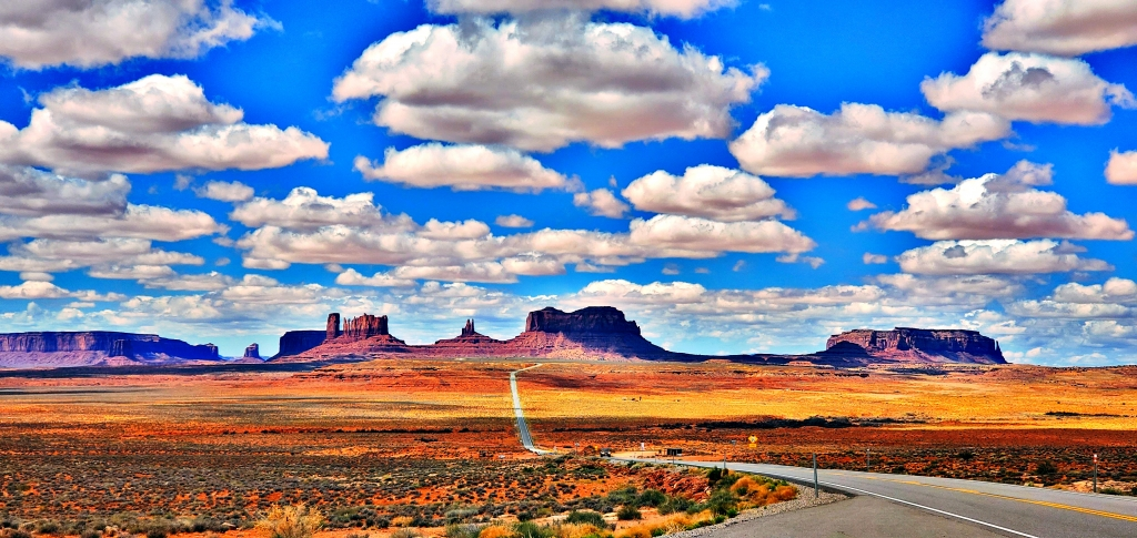 The world renowned vista of Monument Valley from Forest Gump Hill.  LaTonna S. Cly photo